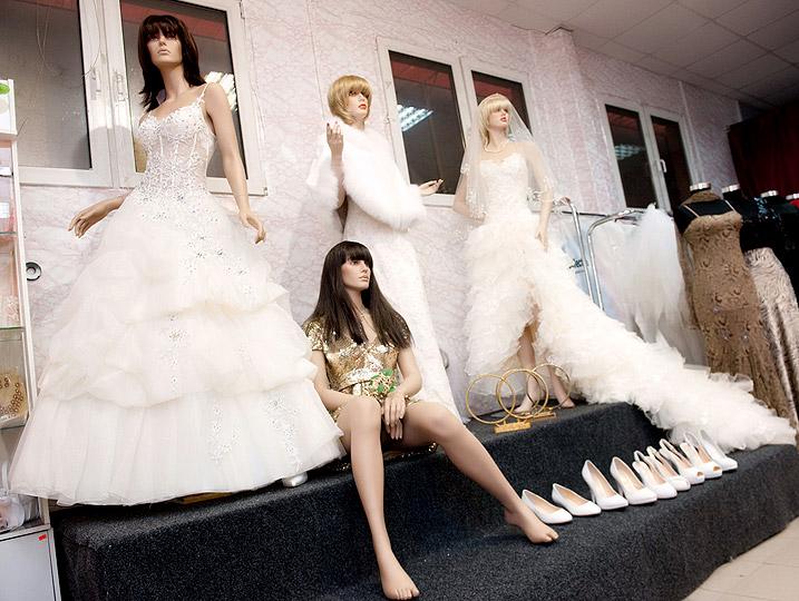 Салон свадебных платьев фото