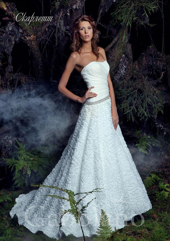 Красивые свадебные платья 2014